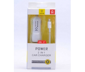 Zore Lightning Car Set Charger Araç Şarj Seti Z-20