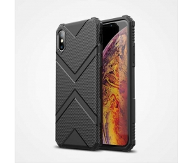 Apple iPhone XS Max 6.5 Kılıf Zore Hank Silikon