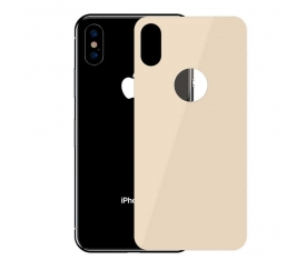 Apple iPhone XS 5.8 Baseus Full Coverage Curved Tempered Glass Rear Protector