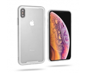 Apple iPhone XS Max 6.5 Kılıf Zore Roar Glassoul Airframe Cover