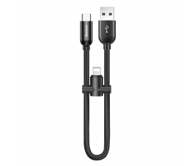 Baseus U-Shaped Portable Data Cable Lighitning