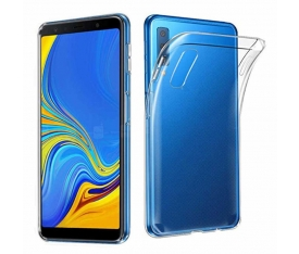 Galaxy A7 2018 Ultra İnce Silikon Kapak 0.2 mm