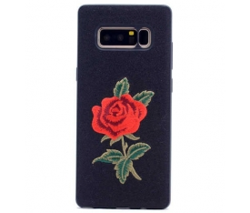 Galaxy Note 8 Kılıf Zore Rose Kapak