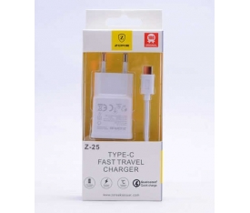 Zore Type-C Fast Travel Charger Set Z-25